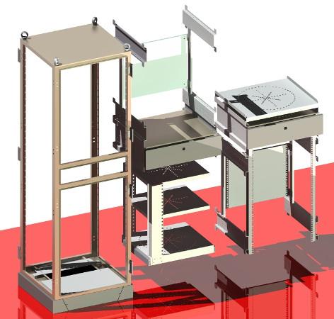 C.R.A. 800 Computer Enclosure