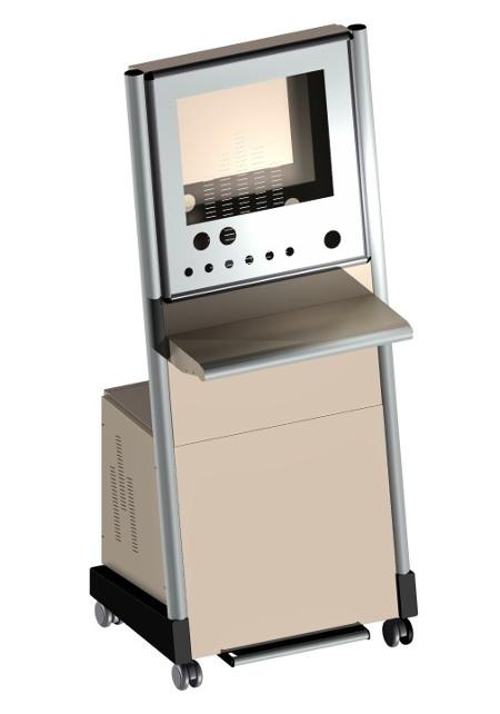 Armadio porta computer industriale